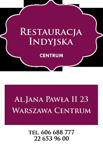 dostawy jedzenia indyjskiego centrum